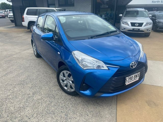 Used Toyota Yaris NCP130R Ascent Hillcrest, 2018 Toyota Yaris NCP130R Ascent Blue 4 Speed Automatic Hatchback