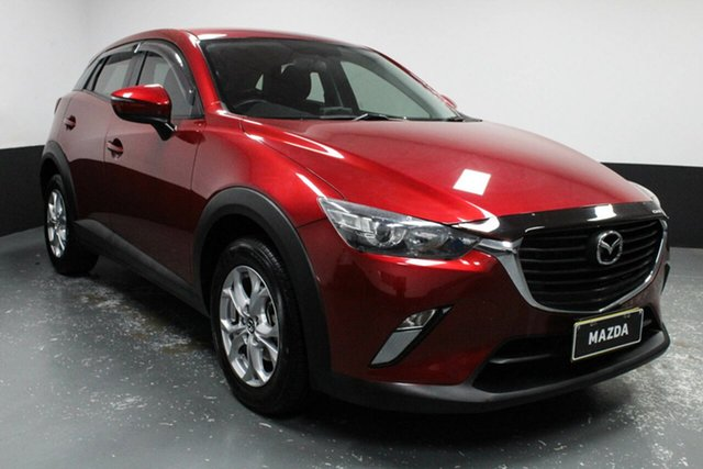 Used Mazda CX-3 DK2W7A Maxx SKYACTIV-Drive Hamilton, 2016 Mazda CX-3 DK2W7A Maxx SKYACTIV-Drive Red 6 Speed Sports Automatic Wagon