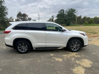 2017 Toyota Kluger GSU55R GXL White Sports Automatic Wagon