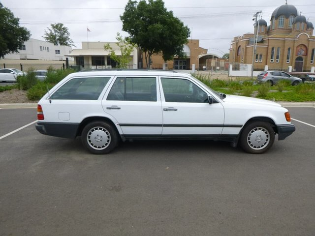 Used Mercedes-Benz 230 W124 TE Beverley, 1986 Mercedes-Benz 230 W124 TE White Automatic Wagon