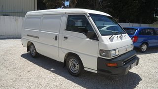 2007 Mitsubishi Express SJ M07 MWB White 5 Speed Manual Van.