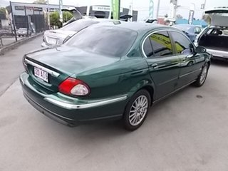 2006 Jaguar X-Type Green 4 Speed Automatic Sedan.