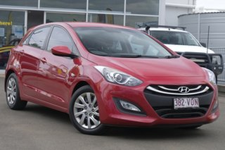 2014 Hyundai i30 GD2 Active Red 6 Speed Manual Hatchback.