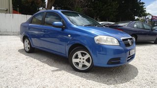 2006 Holden Barina TK MY07 Blue 4 Speed Automatic Sedan.
