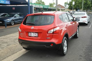 2012 Nissan Dualis J10 Series 3 ST (4x2) Red 6 Speed CVT Auto Sequential Wagon.