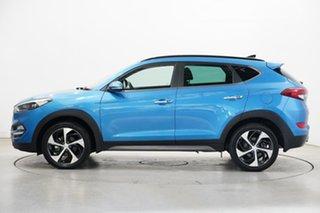2016 Hyundai Tucson TLE Highlander AWD Ara Blue 6 Speed Sports Automatic Wagon.