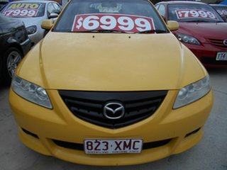 2002 Mazda 6 GG1031 Luxury Sports Yellow 4 Speed Sports Automatic Hatchback.