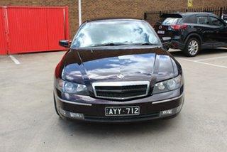 2003 Holden Caprice WK Black 4 Speed Automatic Sedan.