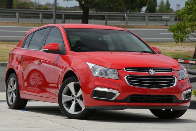 Used Holden Cruze JH Series II MY16 Z-Series North Lakes, 2016 Holden Cruze JH Series II MY16 Z-Series Red 6 Speed Sports Automatic Hatchback