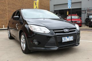 2012 Ford Focus LW MK2 Trend Black 6 Speed Automatic Hatchback