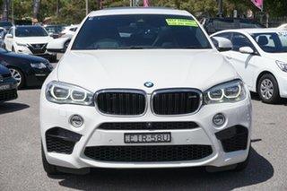 2016 BMW X6 M F86 Coupe Steptronic White 8 Speed Sports Automatic Wagon.