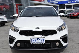 2020 Kia Cerato BD MY20 S White 6 Speed Sports Automatic Hatchback.
