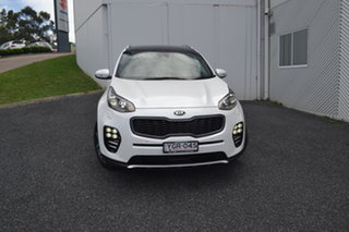 2016 Kia Sportage QL MY17 GT-Line AWD White 6 Speed Sports Automatic Wagon.