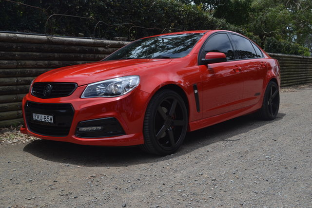 Used Holden Commodore VF MY15 SS Maitland, 2015 Holden Commodore VF MY15 SS Red 6 Speed Sports Automatic Sedan