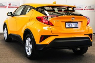2018 Toyota C-HR NGX10R Update (2WD) Hornet Yellow Continuous Variable Wagon.