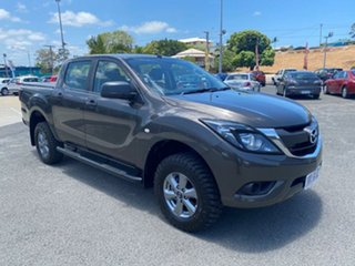 2016 Mazda BT-50 UR0YG1 XT Brown 6 Speed Manual Utility.