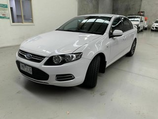2013 Ford Falcon FG MkII XT Ecoboost White 6 Speed Sports Automatic Sedan.