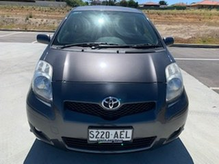 2009 Toyota Yaris NCP90R MY09 Edge Grey 4 Speed Automatic Hatchback.