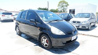 2002 Honda Jazz GD GLi Black 5 Speed Manual Hatchback.