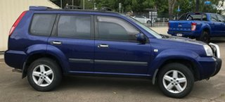2007 Nissan X-Trail T30 II MY06 ST-S Blue 4 Speed Automatic Wagon