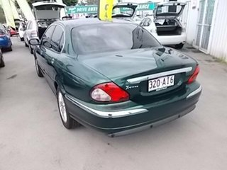 2006 Jaguar X-Type Green 4 Speed Automatic Sedan