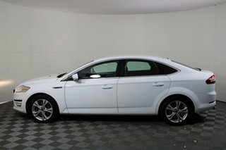 2011 Ford Mondeo MC Zetec PwrShift EcoBoost White 6 Speed Automatic Hatchback