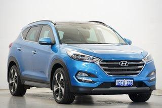 2016 Hyundai Tucson TLE Highlander AWD Ara Blue 6 Speed Sports Automatic Wagon