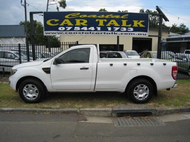 Used Ford Ranger PX XL 2.2 (4x2) Nambour, 2012 Ford Ranger PX XL 2.2 (4x2) White 6 Speed Manual Utility