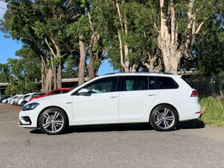 2020 Volkswagen Golf 7.5 MY20 110TSI DSG Highline White 7 Speed Sports Automatic Dual Clutch Wagon.