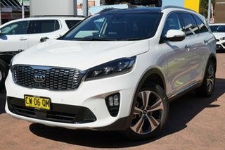 2019 Kia Sorento UM PE MY20 GT-Line (4x4) White 8 Speed Automatic Wagon.