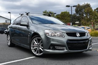 2013 Holden Commodore VF MY14 SS V Redline Grey 6 Speed Manual Sedan.