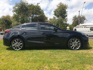 2016 Mazda 3 BN5238 SP25 SKYACTIV-Drive Astina Jet Black 6 Speed Sports Automatic Sedan.