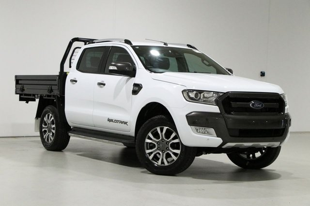 Used Ford Ranger PX MkII MY18 Wildtrak 3.2 (4x4) Bentley, 2018 Ford Ranger PX MkII MY18 Wildtrak 3.2 (4x4) White 6 Speed Automatic Dual Cab Pick-up