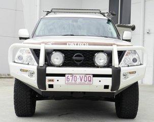 2015 Nissan Patrol Y62 MY15 TI-L White 7 Speed Sports Automatic Wagon.