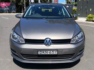 2016 Volkswagen Golf VII MY17 92TSI Grey 6 Speed Manual Hatchback.