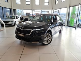 2020 Skoda Kamiq NW MY21 85TSI DSG FWD Black Pearl 7 Speed Sports Automatic Dual Clutch Wagon.