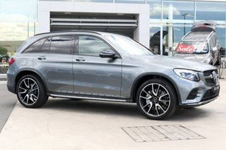 2017 Mercedes-Benz GLC-Class X253 GLC43 AMG 9G-Tronic 4MATIC Selenite Grey 9 Speed Sports Automatic