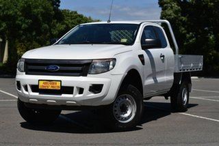 2015 Ford Ranger PX XL Hi-Rider White 6 Speed Sports Automatic Cab Chassis.