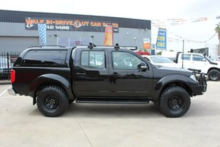 2014 Nissan Navara D40 MY12 ST (4x4) Black 5 Speed Automatic Dual Cab Pick-up