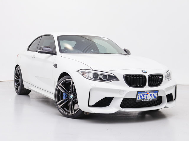 Used BMW M2 F87 Pure, 2016 BMW M2 F87 Pure White 6 Speed Manual Coupe