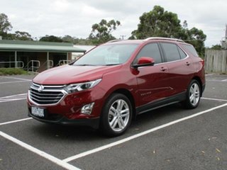 2018 Holden Equinox LTZ Glory Red Automatic Wagon.