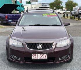 2012 Holden Commodore VE II MY12.5 SV6 Sportwagon Z Series Maroon 6 Speed Sports Automatic Wagon.