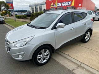 2010 Hyundai ix35 LM Elite AWD Sleek Silver 6 Speed Sports Automatic Wagon