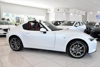 2020 Mazda MX-5 ND GT RF SKYACTIV-MT White 6 Speed Manual Targa