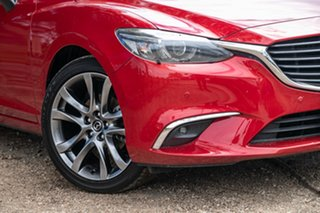 2015 Mazda 6 GJ1032 Atenza SKYACTIV-Drive Red 6 Speed Sports Automatic Wagon.
