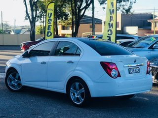 2012 Holden Barina TM MY13 CDX White 6 Speed Automatic Sedan.