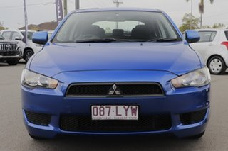 2009 Mitsubishi Lancer CJ MY10 RX Sportback Lightning Blue 5 Speed Manual Hatchback