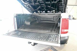 2016 Volkswagen Amarok 2H MY16 TDI420 4Motion Perm Trendline Silver 8 Speed Automatic Utility