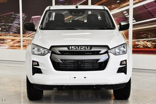 2020 Isuzu D-MAX RG MY21 SX Crew Cab White 6 Speed Sports Automatic Cab Chassis.