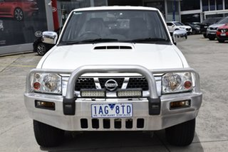 2013 Nissan Navara D22 S5 ST-R White 5 Speed Manual Utility.